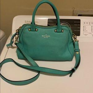 Kate Spade Blue crossbody purse